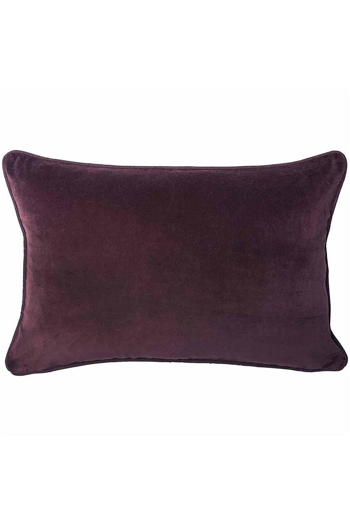 LYNETTE CUSHION - 40X60CM - BURGUNDY