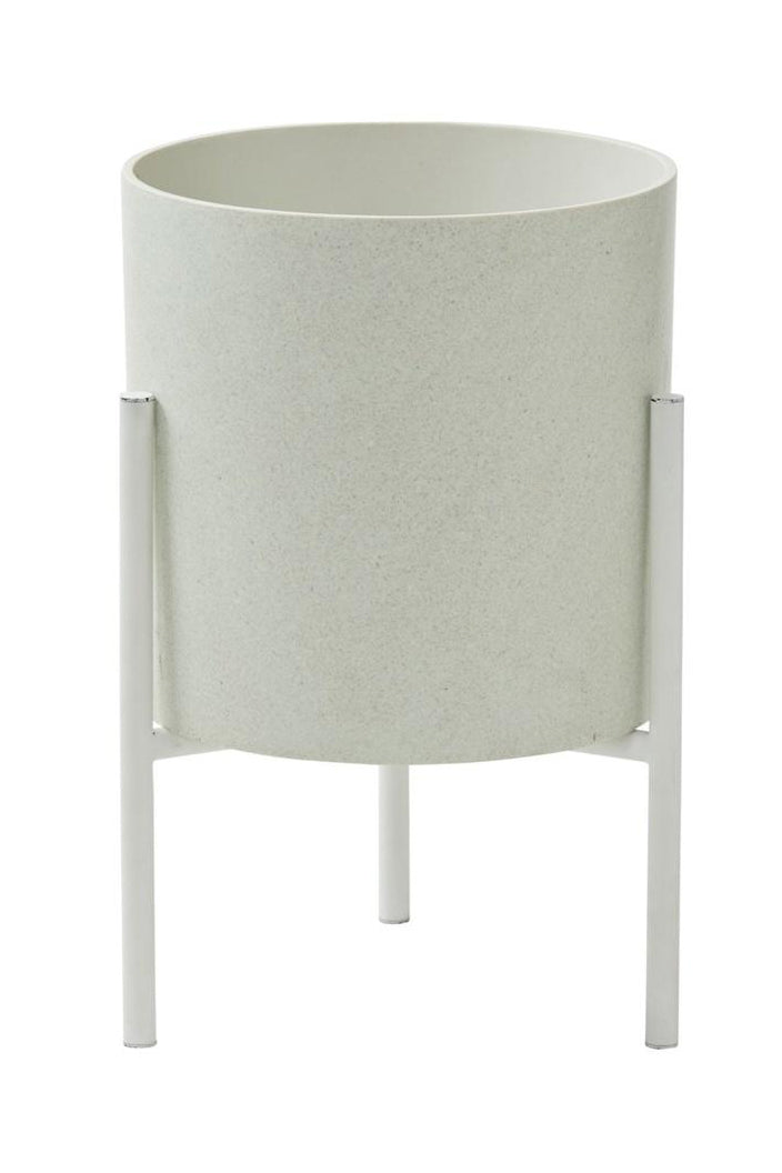 A.I - MADDOX PLANTER - SMALL - WHITE - Tempted Kensington