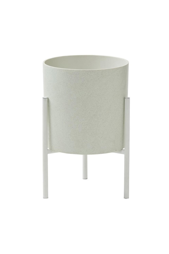 A.I - MADDOX PLANTER - LARGE - WHITE - Tempted Kensington