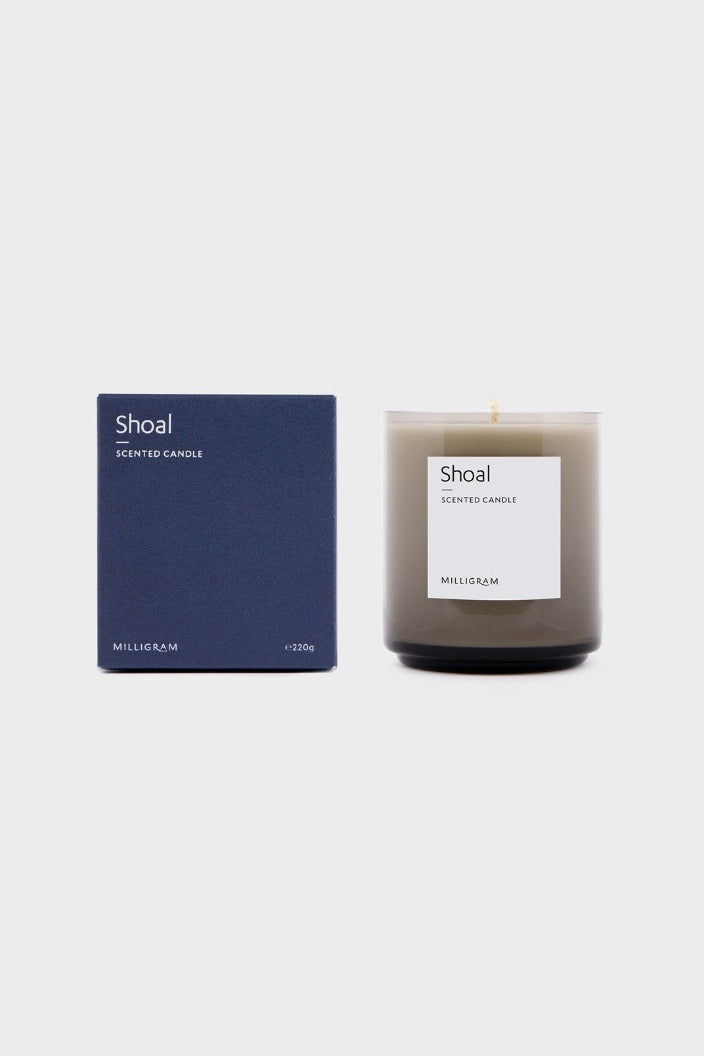 MILLIGRAM - SENSORY COLLECTION - CANDLE - SHOAL - Tempted Kensington