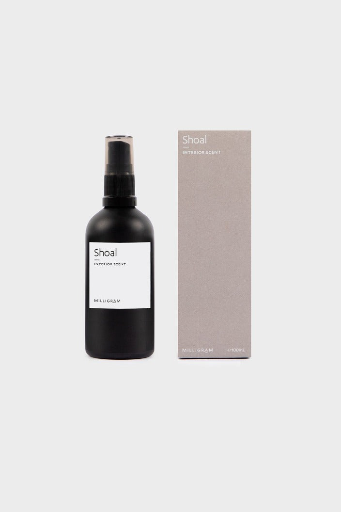 MILLIGRAM - SENSORY COLLECTION - INTERIOR SCENT - SHOAL - 100ML-Tempted Kensington-Tempted Kensington