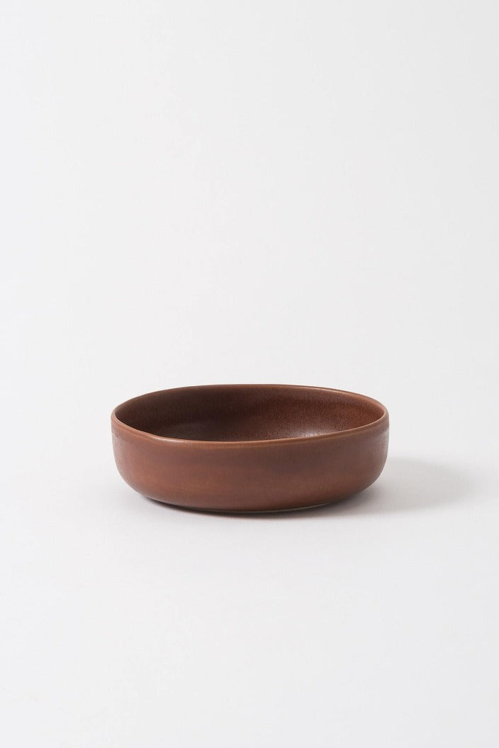 CITTA - MILU SERVING BOWL - LARGE - EGGPLANT - Tempted Kensington