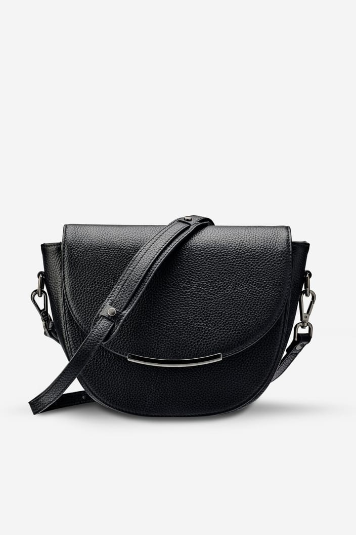 STATUS ANXIETY - THE ORACLE BAG - BLACK - Tempted Kensington