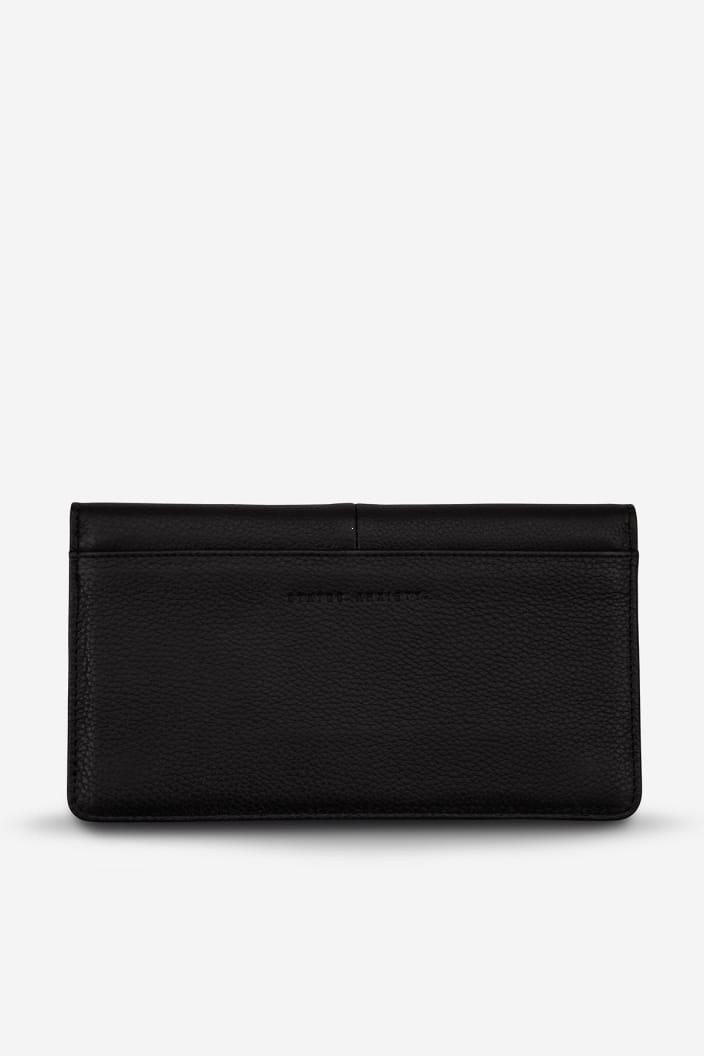 STATUS ANXIETY - TRIPLE THREAT WALLET - BLACK - Tempted Kensington