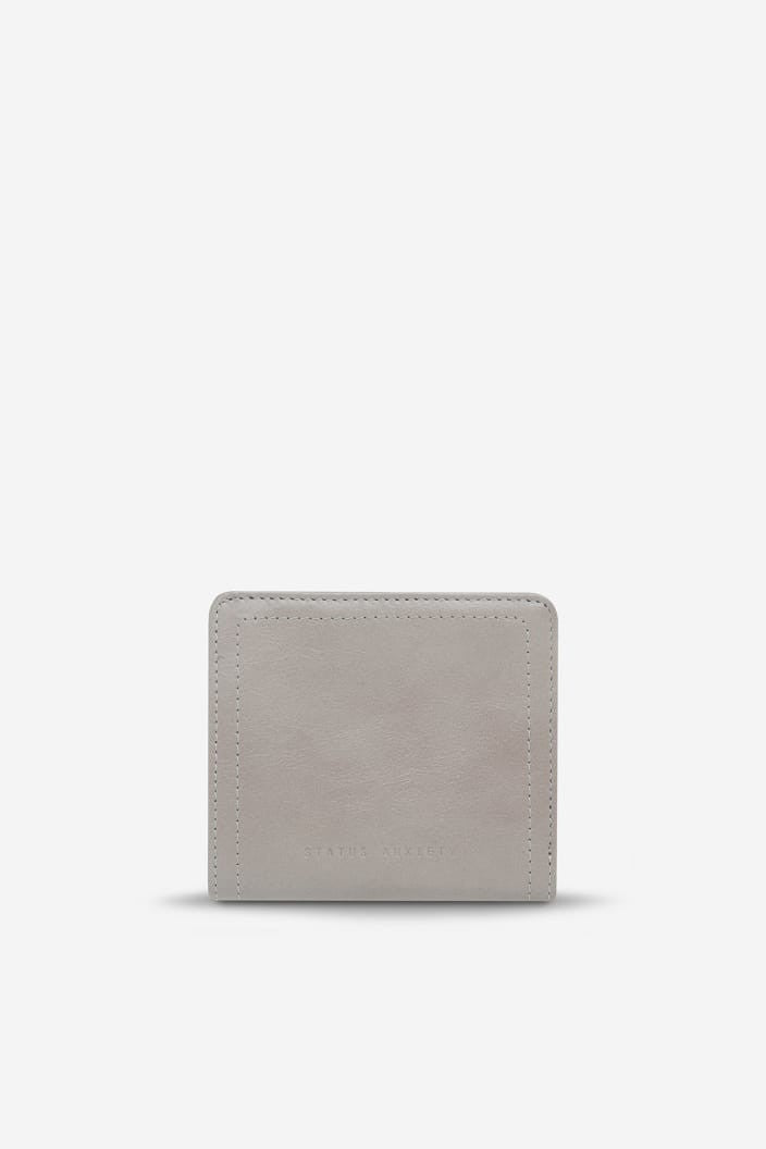 STATUS ANXIETY - IN ANOTHER LIFE WALLET - LIGHT GREY - Tempted Kensington