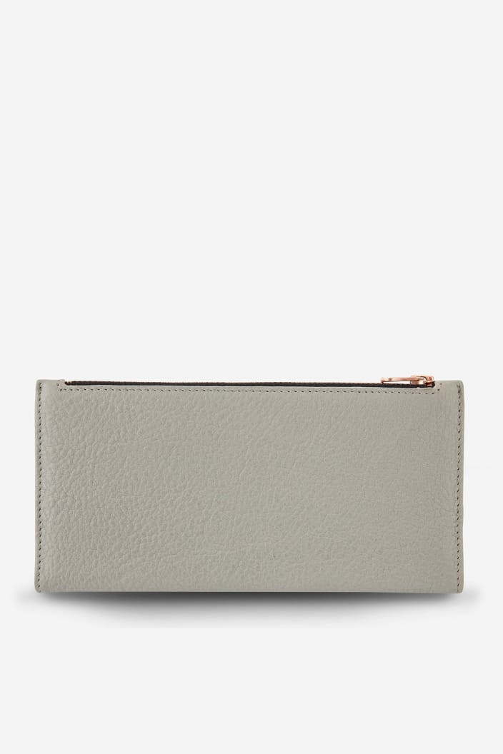 STATUS ANXIETY - IN THE BEGINNING WALLET - LIGHT GREY - Tempted Kensington