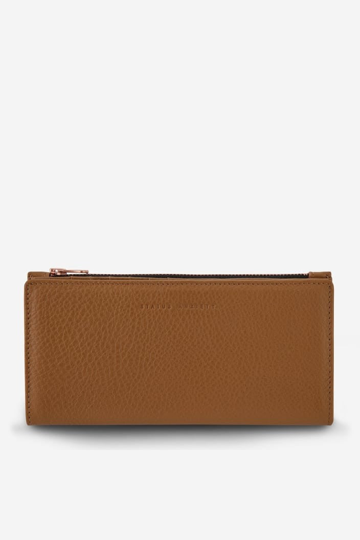 STATUS ANXIETY - IN THE BEGINNING WALLET - TAN - Tempted Kensington