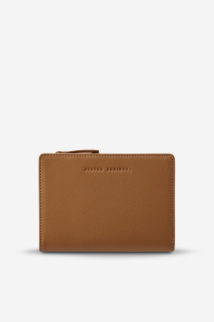 STATUS ANXIETY - INSURGENCY WALLET - TAN - Tempted Kensington