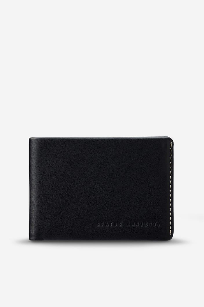 STATUS ANXIETY - OTIS WALLET - BLACK - Tempted Kensington