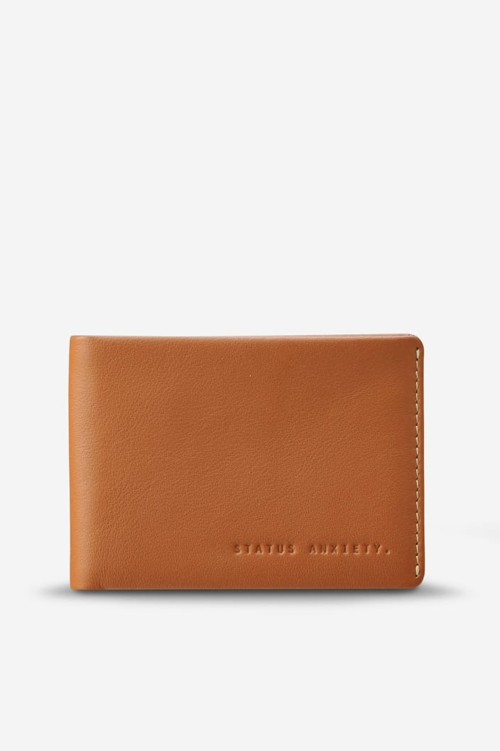 STATUS ANXIETY - OTIS WALLET - CAMEL - Tempted Kensington