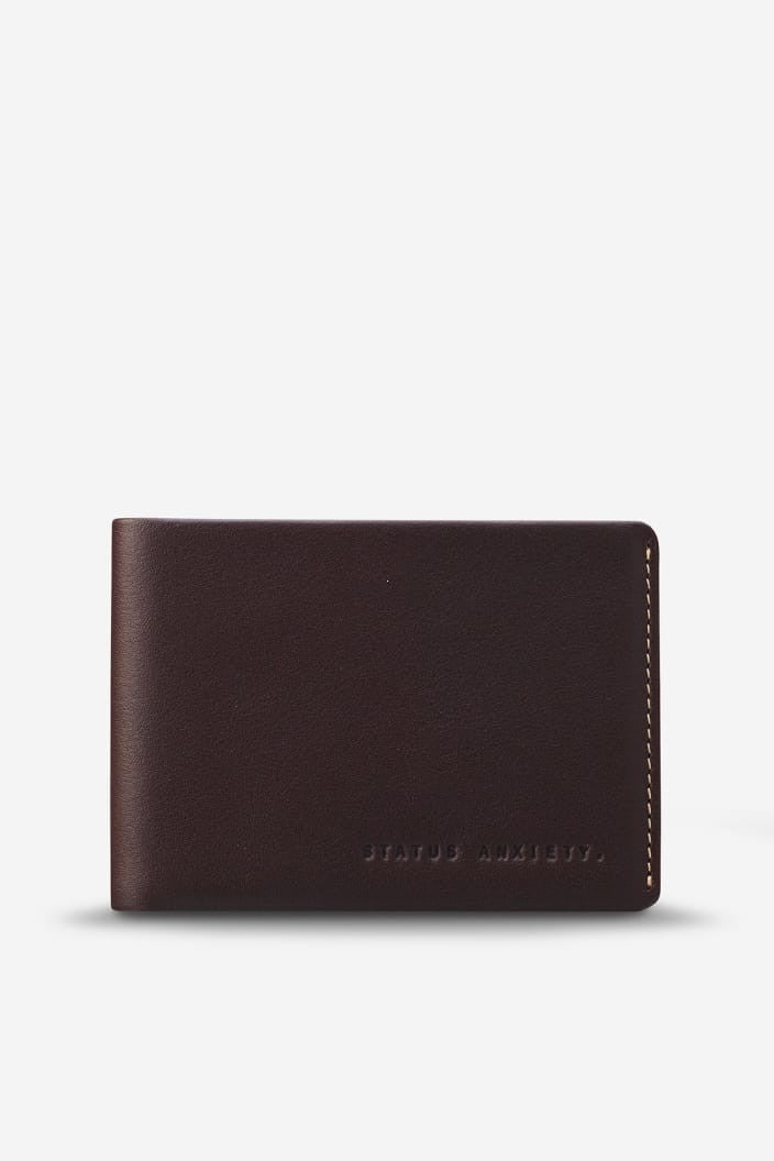 STATUS ANXIETY - OTIS WALLET - CHOCOLATE - Tempted Kensington