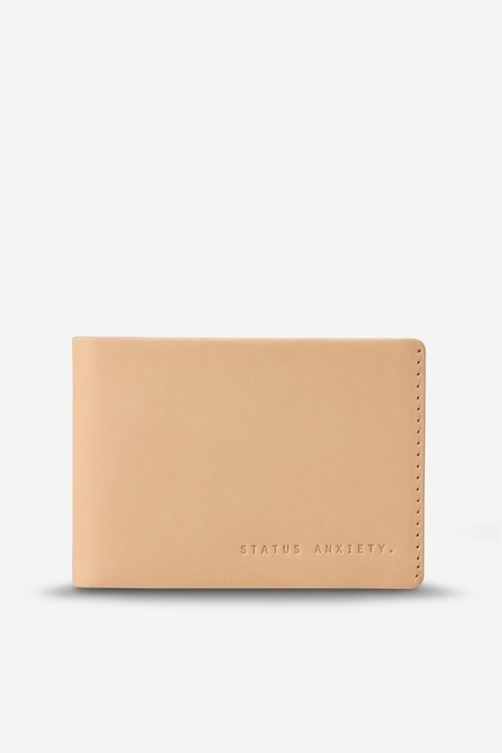 STATUS ANXIETY - OTIS WALLET - TAN - Tempted Kensington