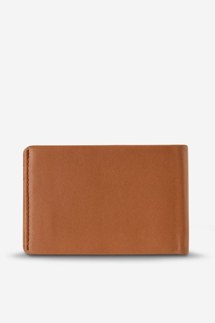 STATUS ANXIETY - QUINTON WALLET - CAMEL - Tempted Kensington