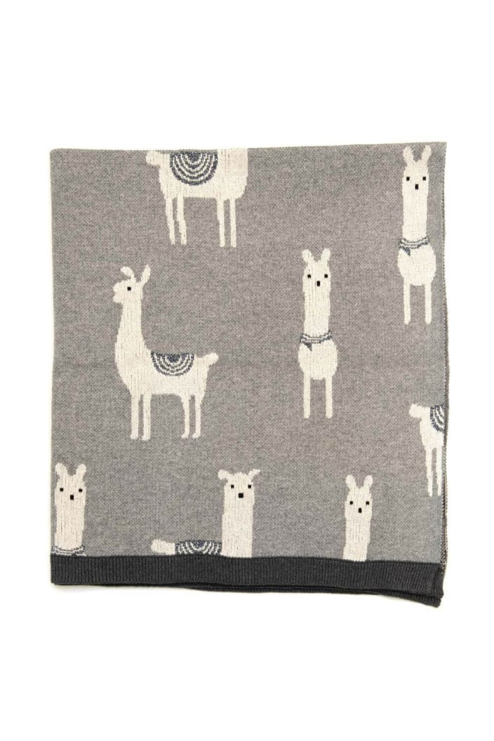 INDUS - BABY BLANKET - LOGAN THE LLAMA - Tempted Kensington