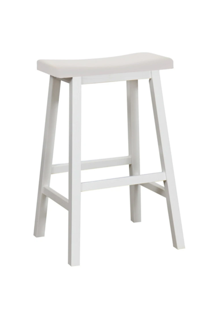 DCF - ZEN BAR STOOL - WHITE - Tempted Kensington