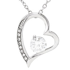 Silver Forever Love Necklace