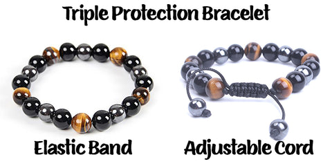 Triple Protection Bracelet different styles