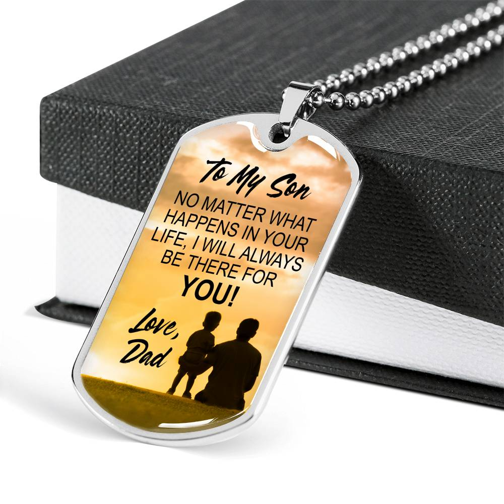 Do More Of What Makes You Happy - Dog Tag Necklace