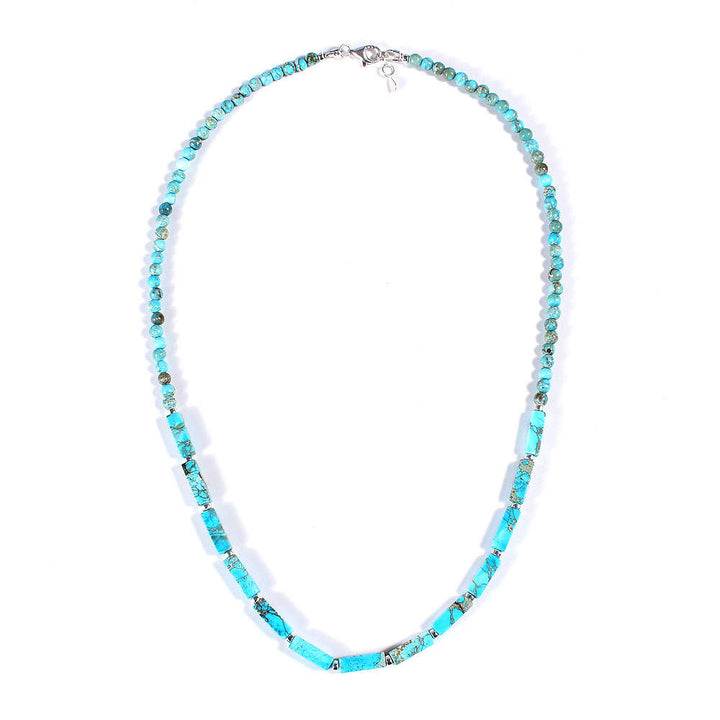 Light Blue Jasper Necklace