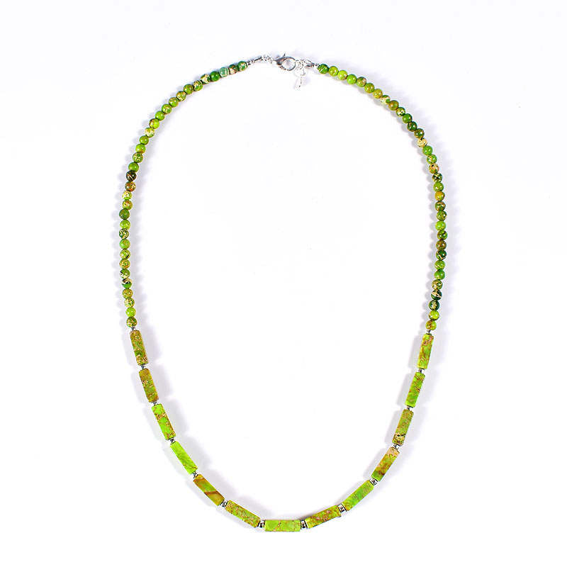 Light Green Jasper Necklace