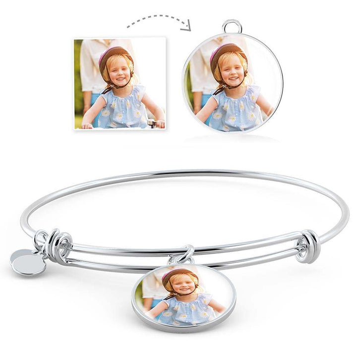 Moments to Remember - Round Bangle Bracelet
