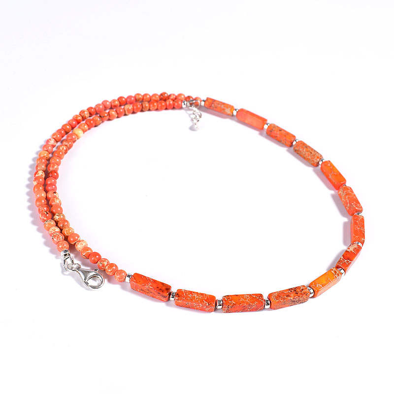 Orange Jasper Necklace