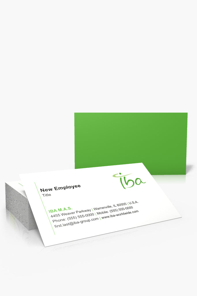 Iba products endless prints standard business cards reheart Gallery