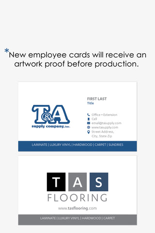 TA Supply- New Employee