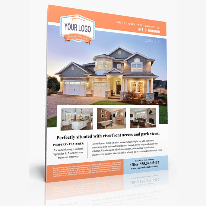 Real Estate Sign Flyers