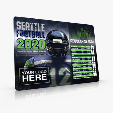 "5.75"" x 7"" Football Schedule Magnets (PREMIUM 25mil)"