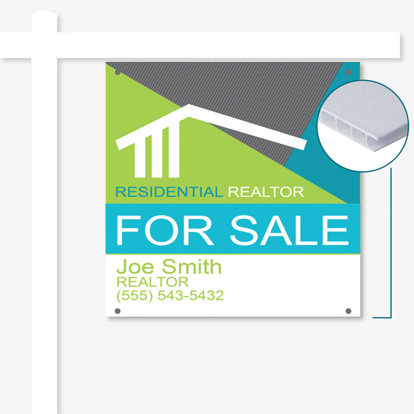 4mm Corrugated For Sale Signs