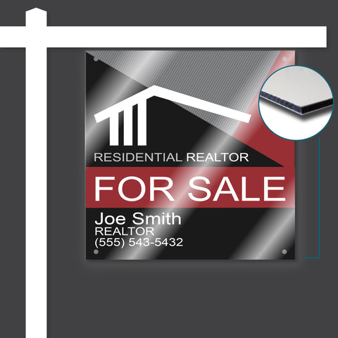 Reflective Aluminum For Sale Signs