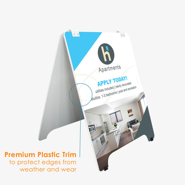 Premium Wood A-Boards