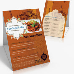 "4"" x 6"" Table Tents"