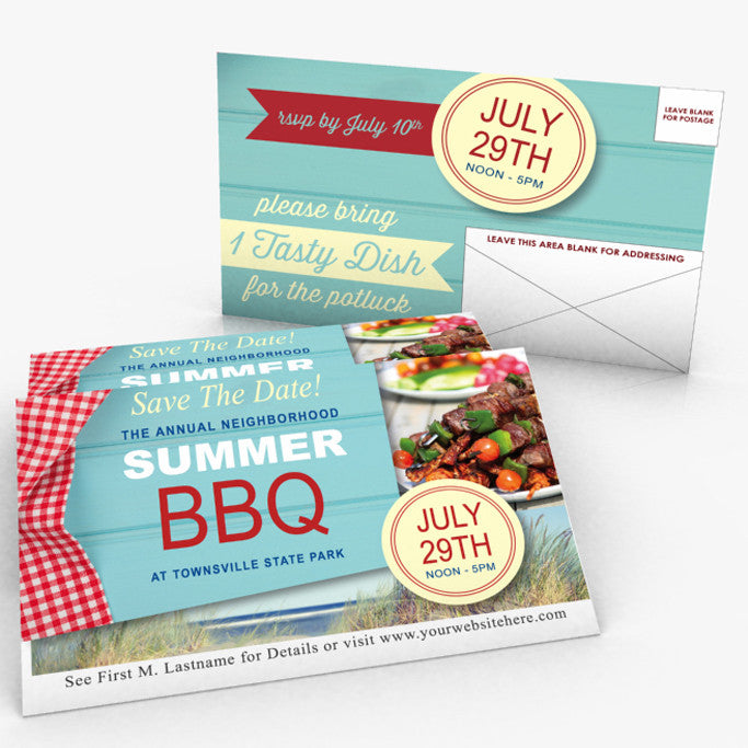 "8.5"" x 5.5"" Direct Mail Postcards"