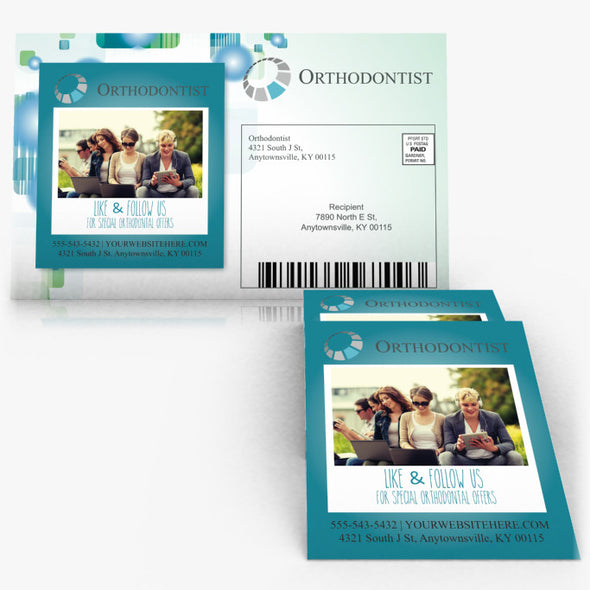 Direct Mail Postcards with Magnet