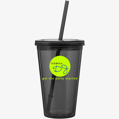 Colored Cold Drink Tumbler (16oz)