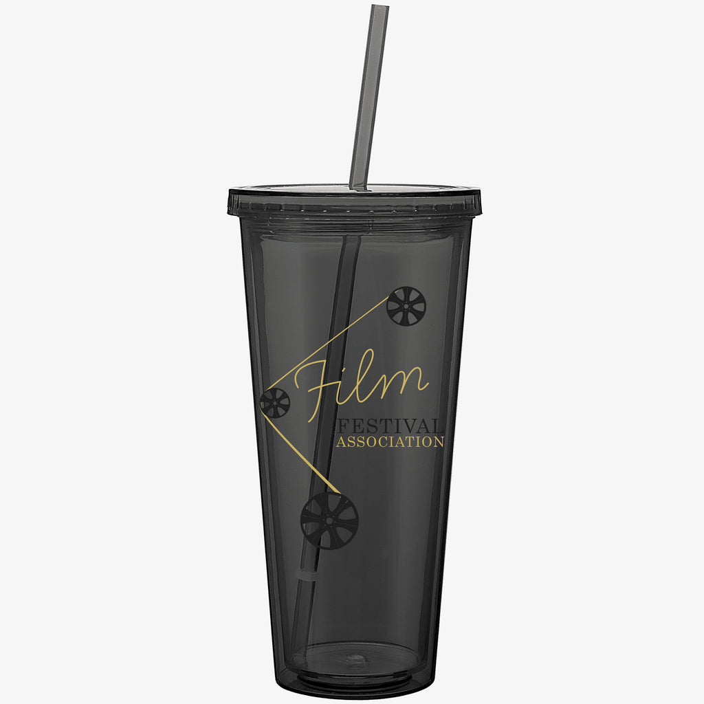 Colored Cold Drink Tumbler (20oz)