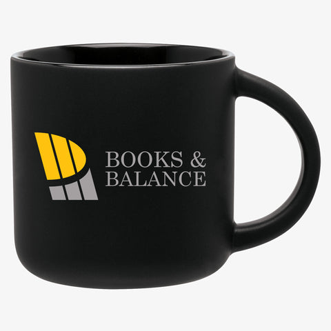 Matte Black Two Tone Mug (14oz)