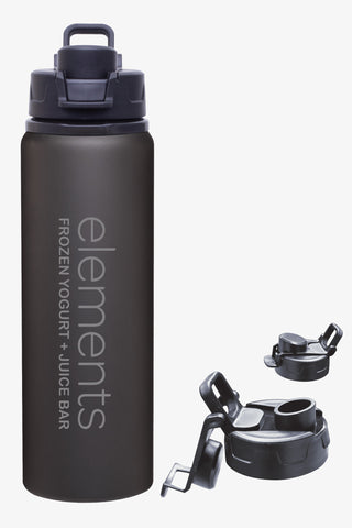 Aluminum Flip Top Water Bottle (28oz)