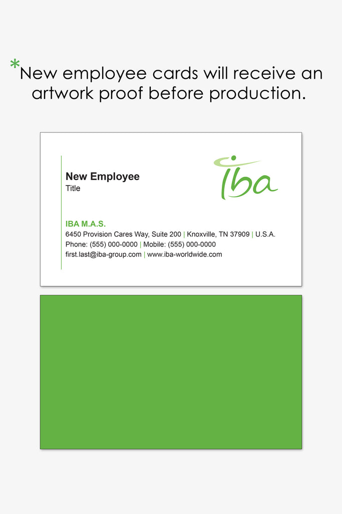Iba Knoxville Business Card Reorder Page Brand Stratos