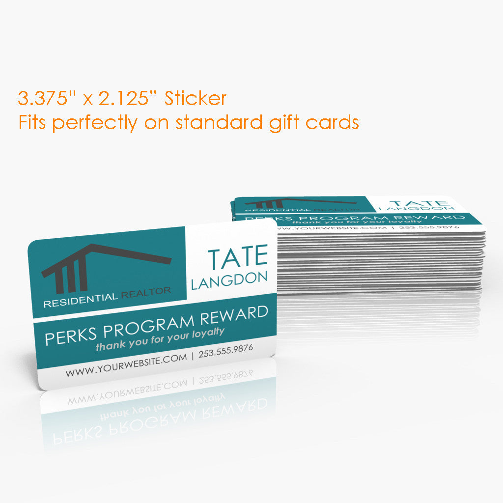 Gift Card Stickers
