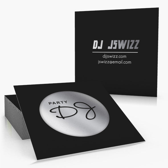 16pt Foil Stamp Business Cards