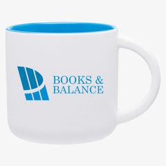 Matte White Two Tone Mug (14oz)
