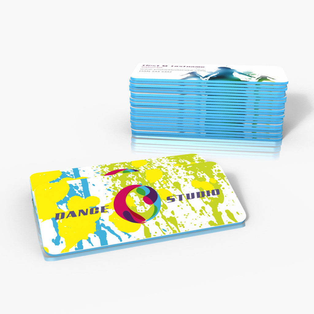 32pt silk colored edge business cards brand stratos 32pt silk colored edge business cards reheart Image collections