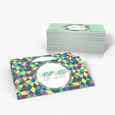 16pt Silk + Spot UV Business Cards