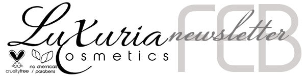 Luxuria Cosmetics Newsletter Header 2013