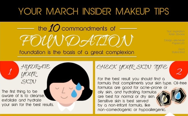 March insider makeup tip