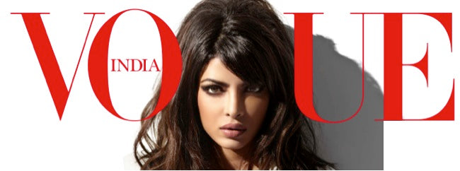Priyanka Chopra Vogue India Cover