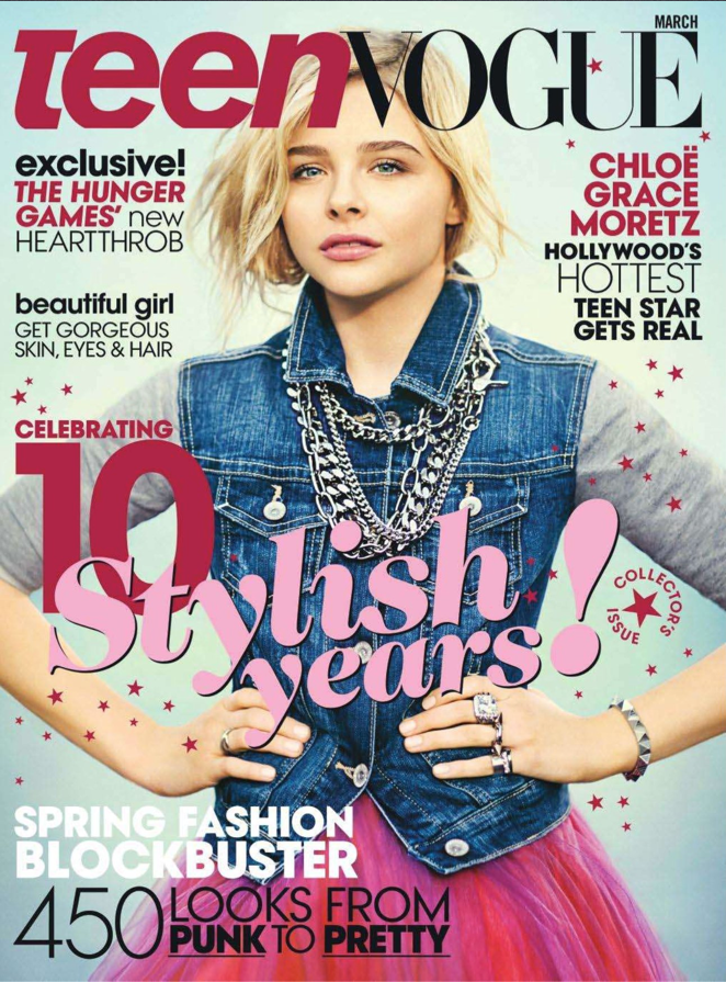 Chloe Grace Moretz on TeenVogue USA
